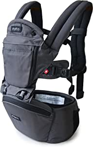 MiaMily Hipster Plus Baby Carrier, Organic Charcoal
