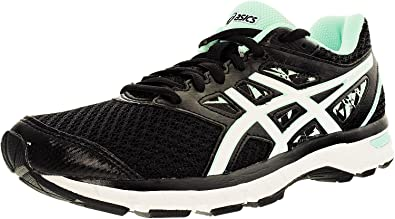 c27619269c8de Image Unavailable. Image not available for. Color: ASICS Women's Gel-Excite  4 Women's Black/White/Mint Ankle-High Running