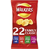 Walkers Classic Variety Crisps,22x25g