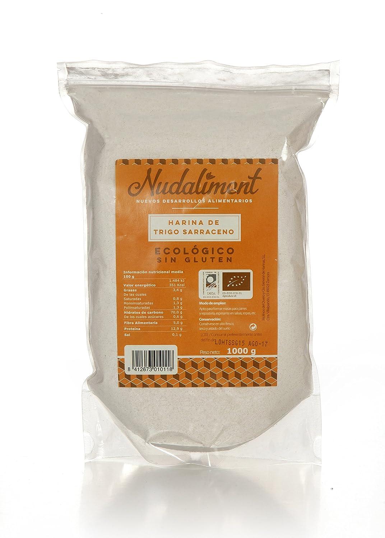 Harina de Trigo Sarraceno ECOLOGICA Sin Gluten 1000 gr: Amazon.es: Alimentación y bebidas