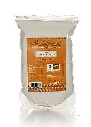 Harina de Trigo Sarraceno ECOLOGICA Sin Gluten 1000 gr