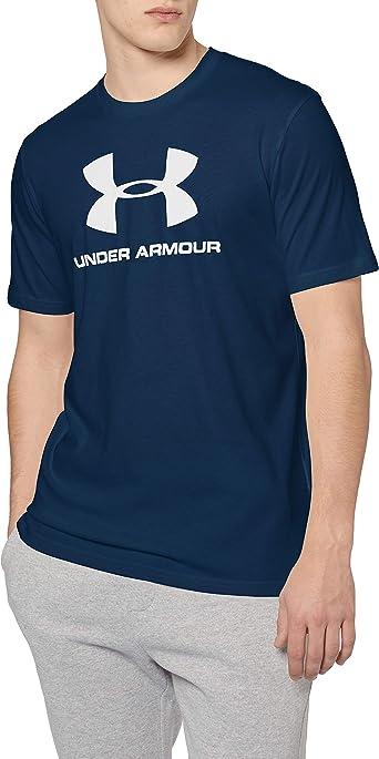 Under Armour UA Mens Sportstyle Logo Short Sleeve Crew Neck Tee Top T-shirt