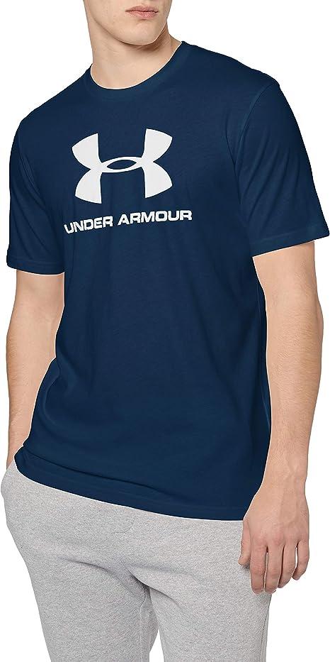 Under Armour Herren Cc Sportstyle Logo Polyester Fitness T-Shirts /& Tanks