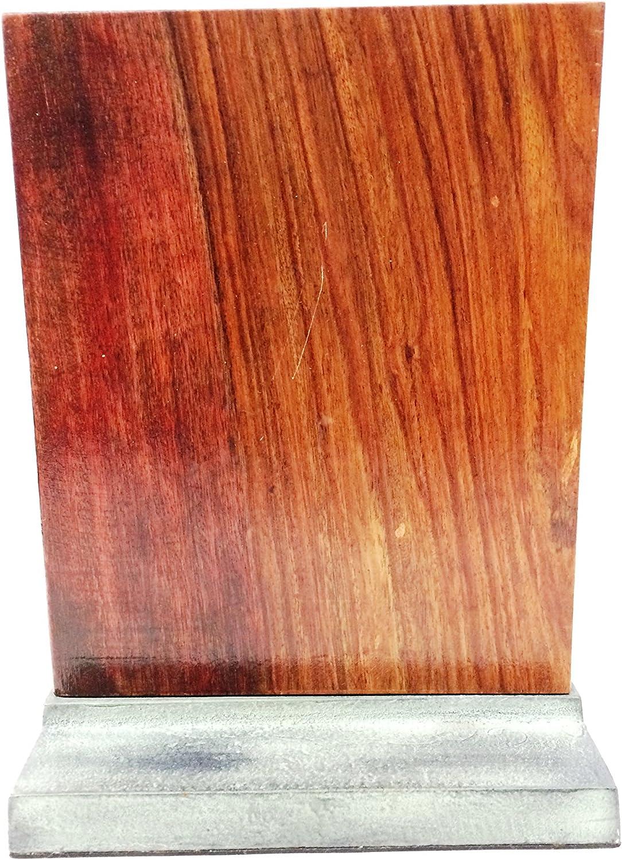 Madhus COLLECTION MG786J Desktop Decorative Wooden Standing Alphabet 6 x 8