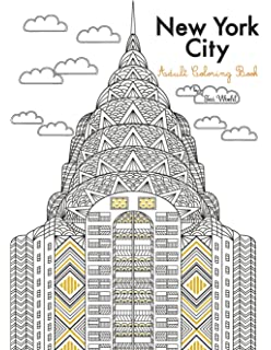 New York City Adult Coloring Book