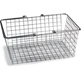 Spectrum Diversified Wire Storage Basket, Large, Chrome