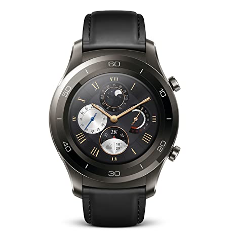 Amazon.com: Huawei Watch 2 Classic Bluetooth (4GB Storage ...
