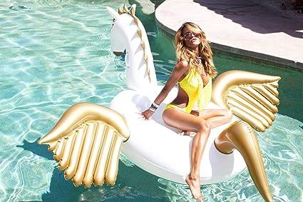 Amazon.com: yhsatpow gigante hinchable Pegasus piscina ...