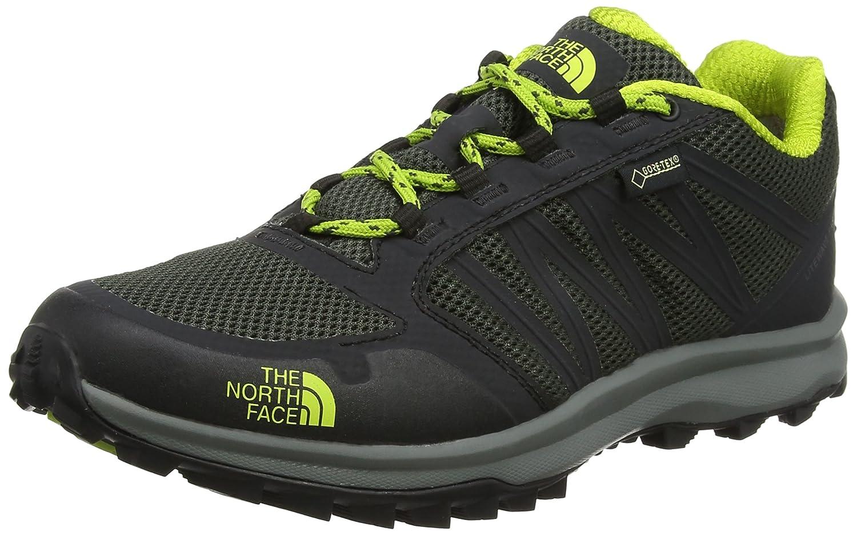 The North Face Litewave Fastpack Gore-Tex, Zapatillas de Senderismo para Hombre 11 UK 45.5 EU|Verde (Climbing Ivy Green/Lime Green)