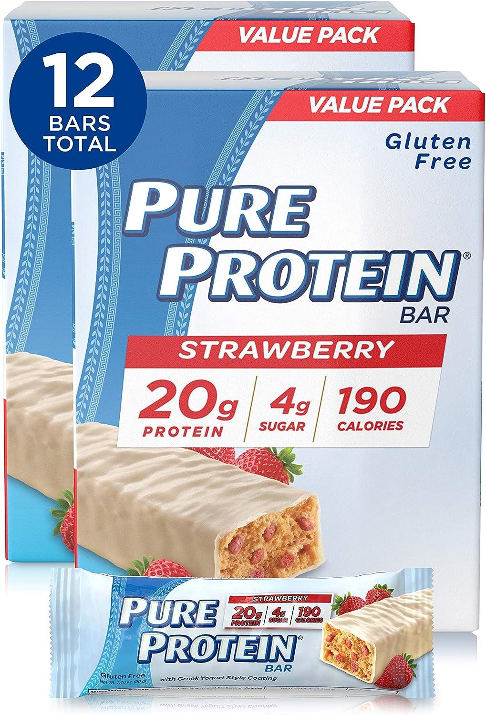 Sans sugar Greek Yogurt - Pure Protein Bars
