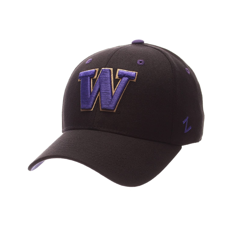 Zephyr Men 's Washington Huskies Dh Zwool Fitted Hat 26024  B01N900BW7