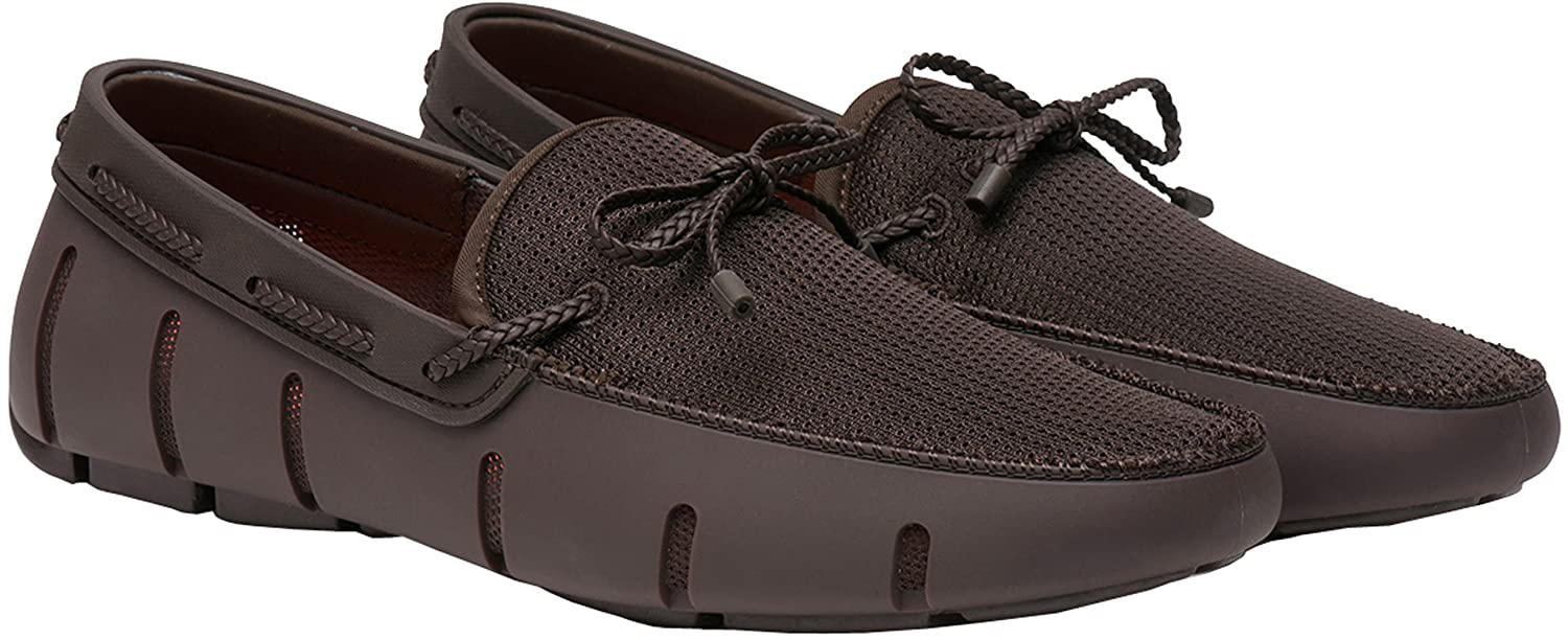 Brown Swims Braided Lace Loafer