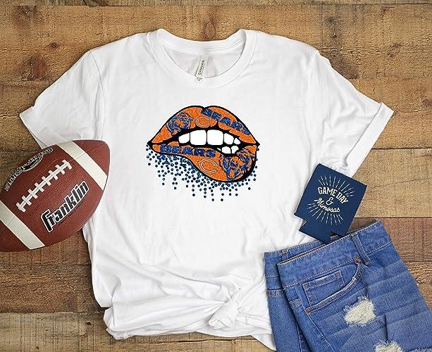 big sale 22351 aec72 Amazon.com: Chicago Bears Shirt: Handmade
