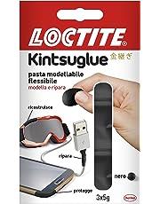 Loctite, 2239179, Kintsuglue pasta adesiva modellabile e flessibile, Nero