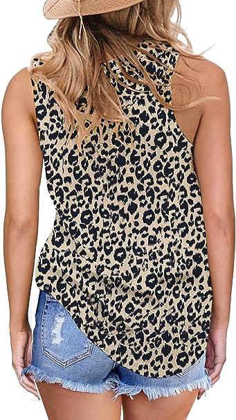 Cheetah Tie dye Sleeveless  Tank top