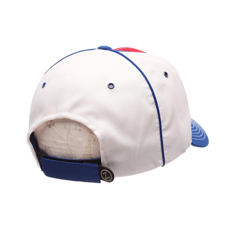 NHL One Size Adjustable Velcro Baseball Hat Zephyr Uprising Pre-Curved Bill Cap