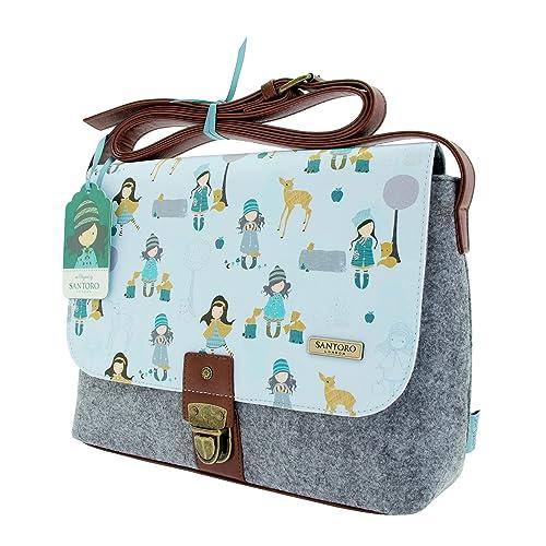SANTORO GORJUSS - Bolso estilo cartera para mujer multicolor multicolor: Amazon.es: Zapatos y complementos