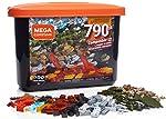 Caixa Pro Blocos de Montar, 790 peças, Mega Construx, Mattel