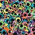 Creativity Street Wiggle Eyes Bright 100-Piece Assorted Sizes