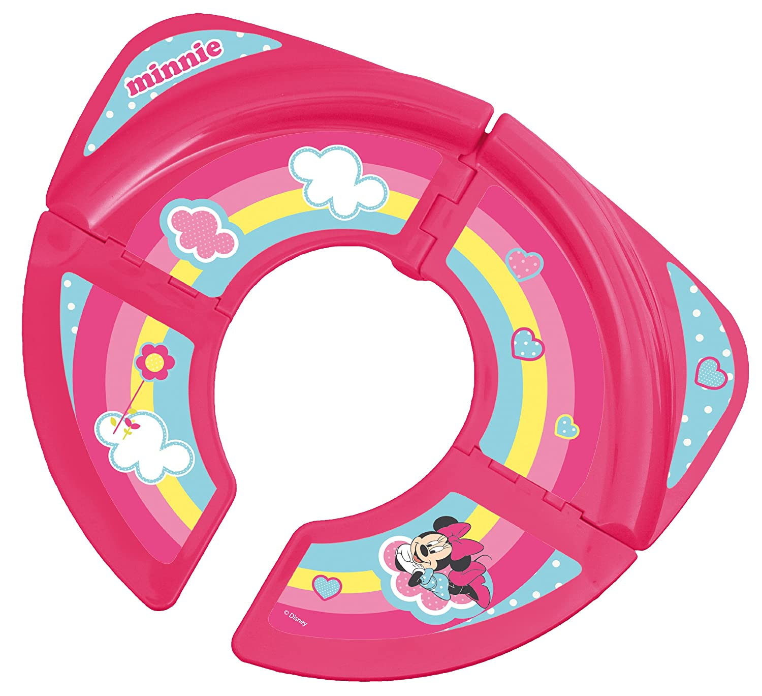 Solution Siege De Toilette Transportable Pliable Disney - Minnie Babyland 56317