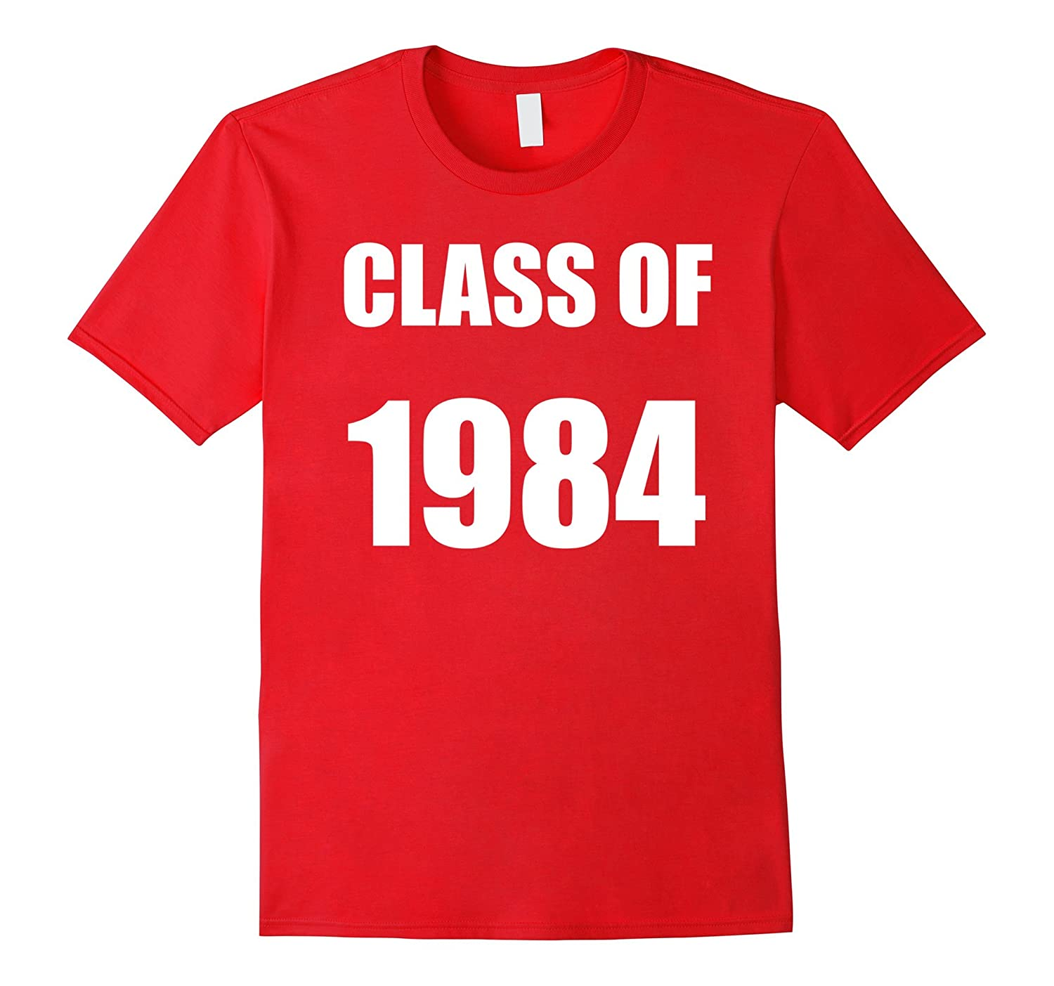 Class of 1984 Popular School Year Classic Design T-shirt-CL