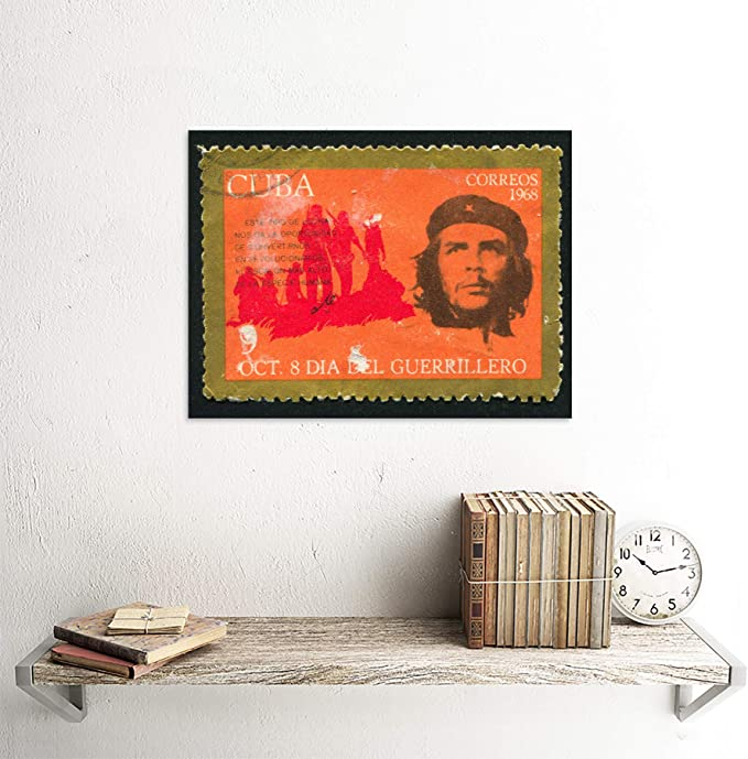 POSTAGE STAMP CHE GUEVARA QUOTE UNKNOWN VALUE POSTER BMP11213