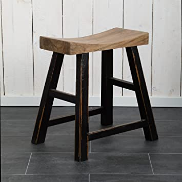 Design hocker holz  PURISTISCHER DESIGN HOCKER