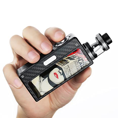Conpush 100W cigarrillo electrónico E Cig Mod Kit de inicio(sin nicotina,pegatina gratis) (negro): Amazon.es: Salud y cuidado personal
