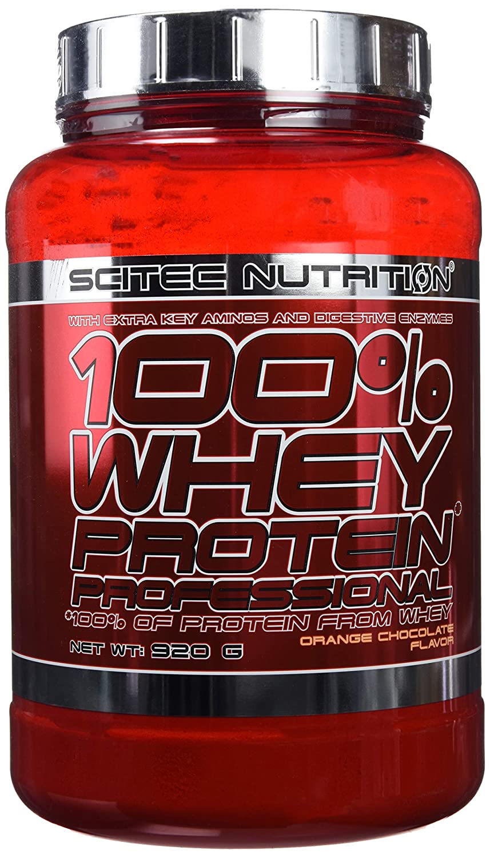 Scitec Nutrition Whey Protein Professional proteína fresa 920 g
