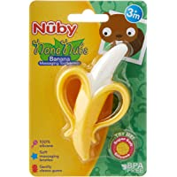 Nuby Nananubs Banana Massaging Toothbrush, Multi,
