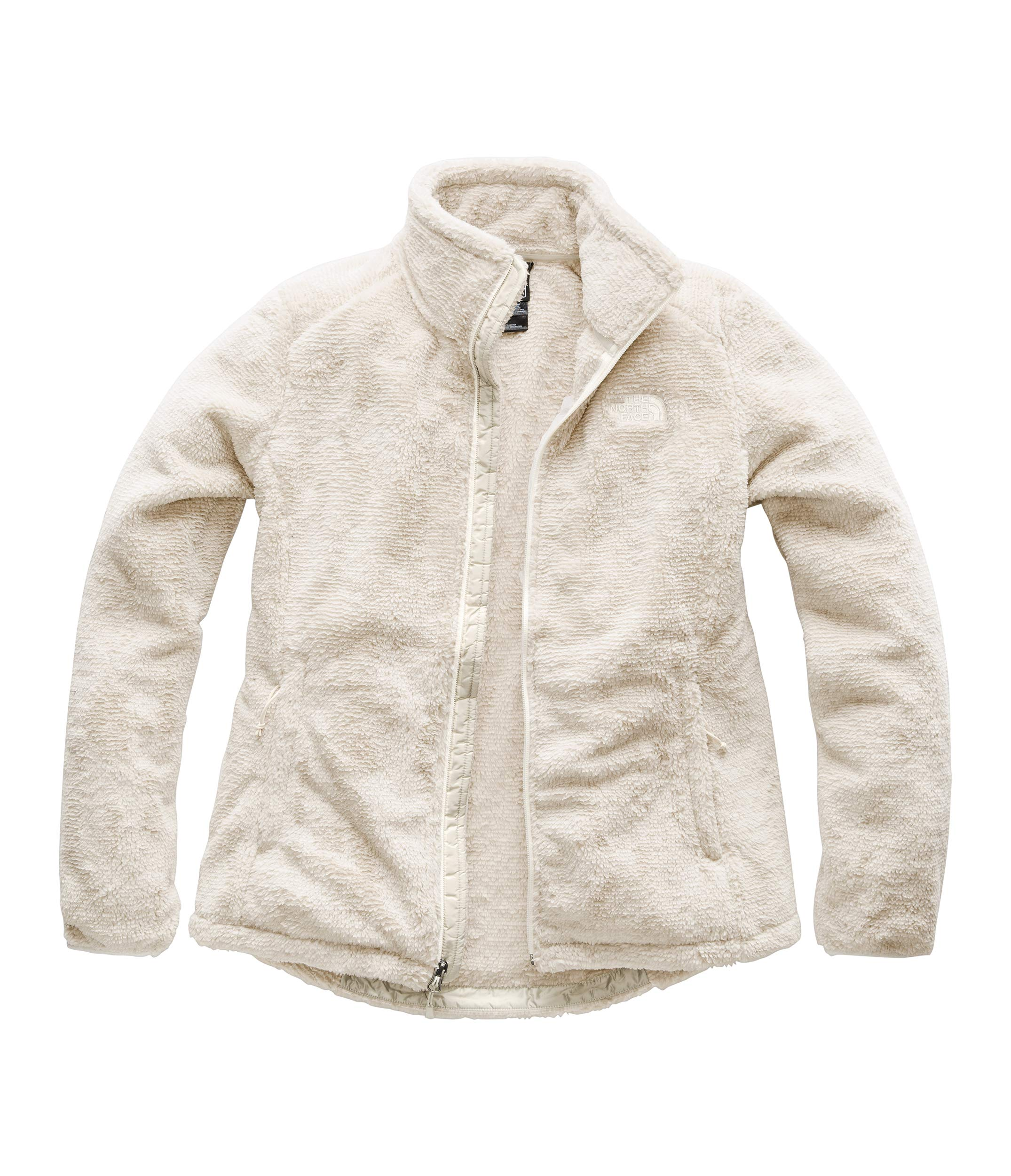 The North Face Women's Osito 2 Jacket Vintage White/Peyote Beige Stripe X-Small by The North Face