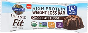 Garden of Life, Raw Fit Chocolate Fudge Protein Bar, 1.9 Ounce