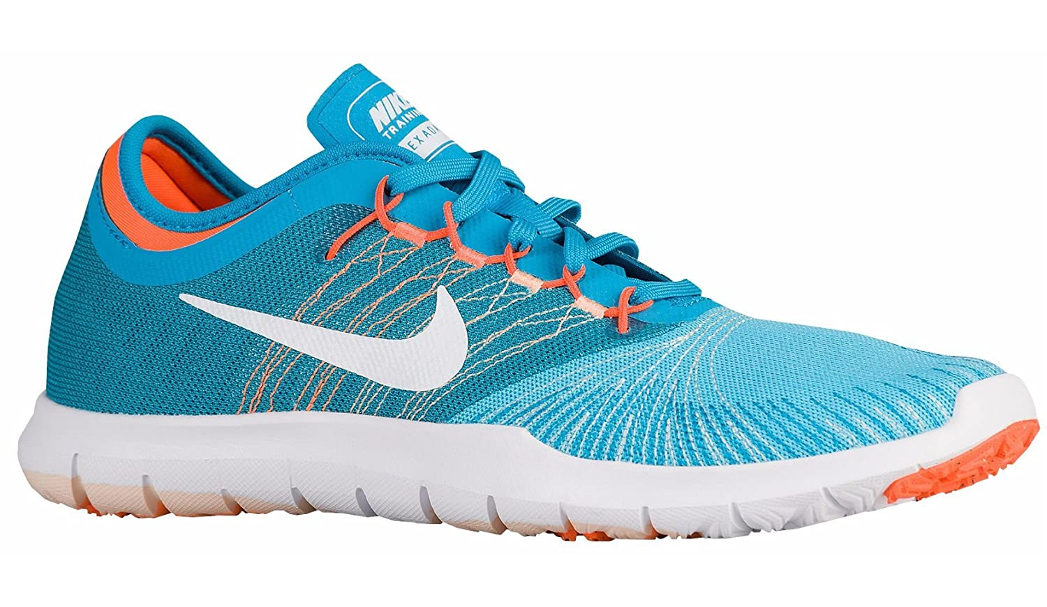 29aadc634ce3 Nike Women Flex Adapt TR (4 UK EUR 37.5 23.5 cm) Blue White  Buy Online at  Low Prices in India - Amazon.in
