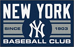 FANMATS 18477 New York Yankees Baseball Club Starter Rug