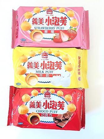 imei Puff 3 sabor Combo (2,29 oz): Amazon.com: Grocery ...