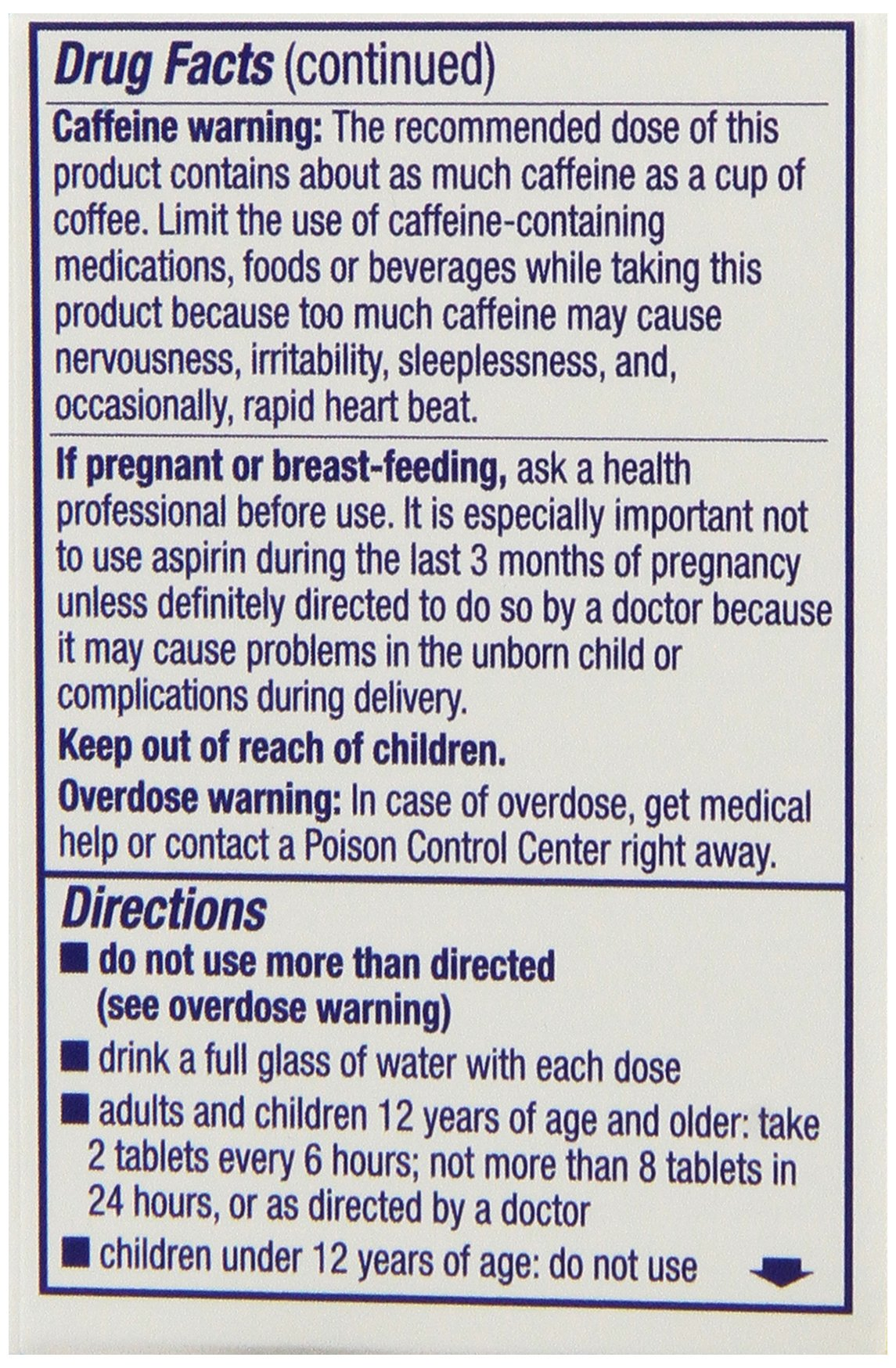 Anacin Pain Relief Tablets, 30 Count (Pack of 6) by Anacin