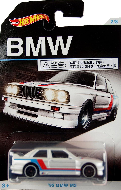 HOT WHEELS BMW series bmw 1992 M3 1//64 #2//8