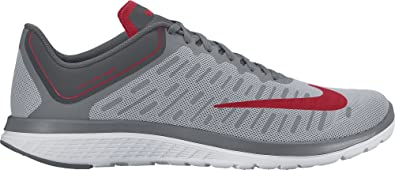 Nike Men's FS Lite Run 4 Running Shoe Wolf Red/University Red/Cool Grey