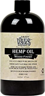 product image for Daddy Van's All Natural Hemp Oil Food Safe Wood Finish and Restorer (16 oz.)