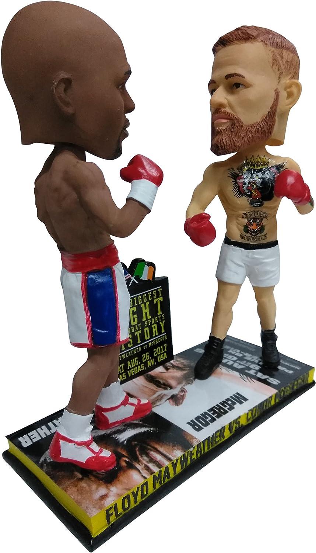 Boxing Floyd Mayweather vs UFC vs Conor McGregor Mayweather vs McGregor Special Edition Dual Bobblehead