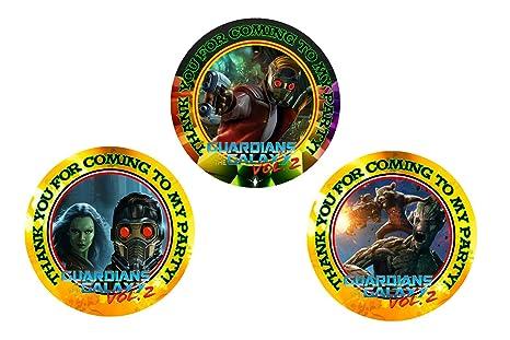 12 Guardianes de la Galaxy fiesta de cumpleaños Favor bolsas ...