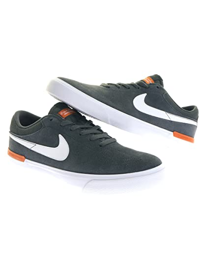 20d2e03ed8ee5 Amazon.com  Nike SB Hypervulc Eric Koston Anthracite Clay Orange ...