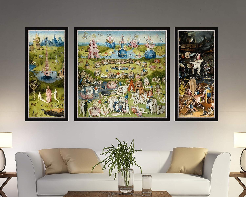 Garden of Earthly Delights, Hieronymus Bosch, Bosch Canvas Print, Hieronymus Bosch Art (59