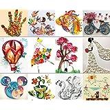 MAGIC SHOW MS 12PCS Origami Paper Quilling Tool Set Designs DIY Handmade À 383