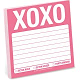 Knock Knock Sticky Note Pad, XOXO