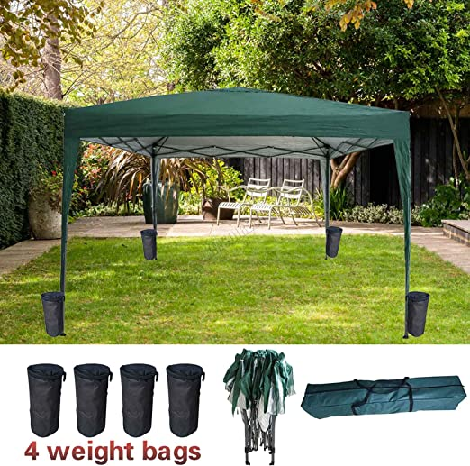 FoxHunter Pug02 - Carpa Impermeable (3 m x 3 m, sin Paredes ...