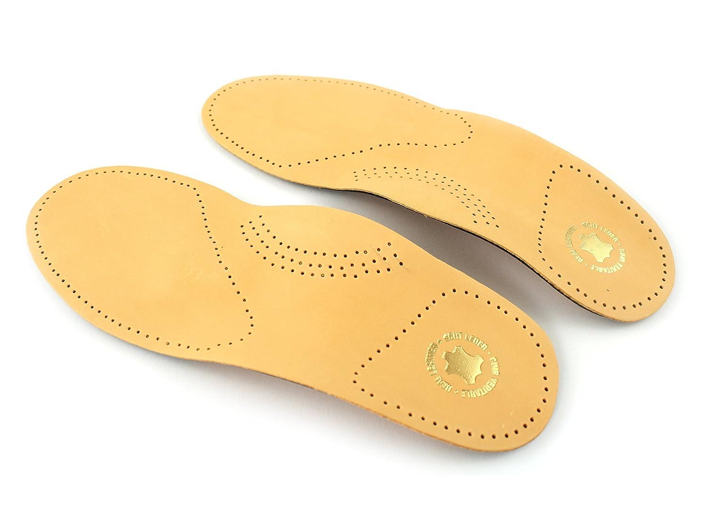 Komforteinlage aus 100% Schafleder mit Aktivkohle –Made in Germany- Orthopädische Einlage-Schuheinlage mit Fußbett- Fußstütze- Hilft bei Fersensporn und Fehlstellungen von Berckland in Gr. 36-47