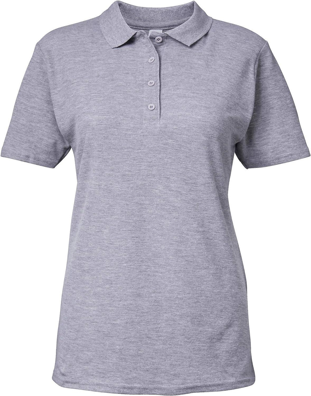 Femme Polo uni Gildan Softstyle