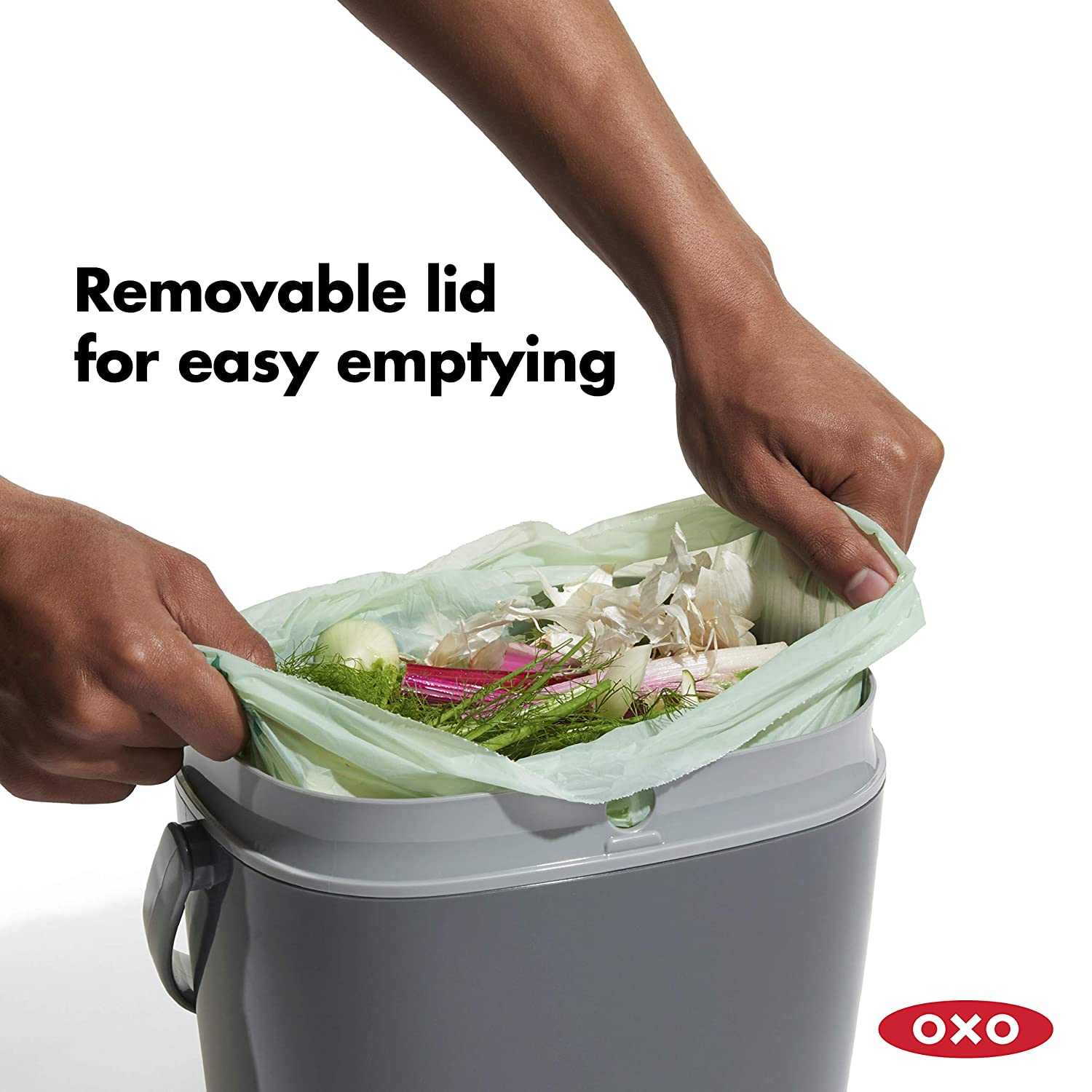 Amazon.com: OXO OXO Good Grips - Cubo de basura para compost ...