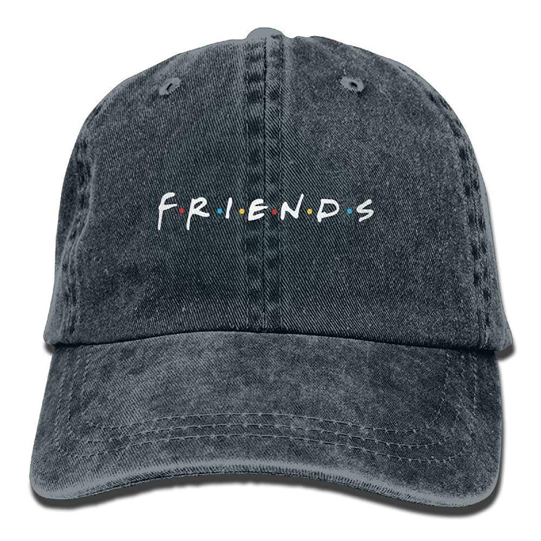 JTRVW Friends TV Show Adult Hats Unisex Fashion Plain Cool Adjustable Denim Jeans Baseball Cap Cowboy
